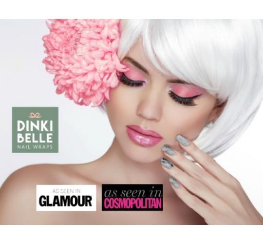 DinkiBelle Designer Nail Wraps (Nail Polish strips)