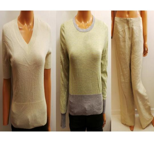One Off Joblot of 7 Ladies Cash Ca Clothing Knitwear, Tank Top & Trousers