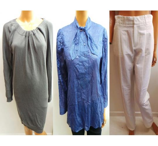 One Off Joblot of 6 Ladies Bruuns Bazaar Clothing Tops, Cardigans & Trousers