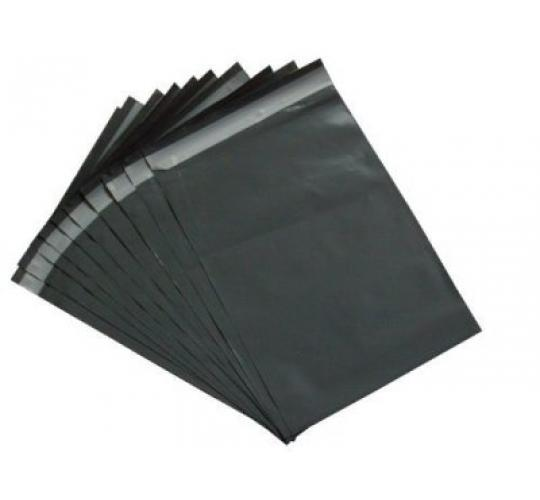 100 x Joblot Strong Mailing Postal Bags Grey 17 x 24 inch (425 x 600) Plastic Polythene