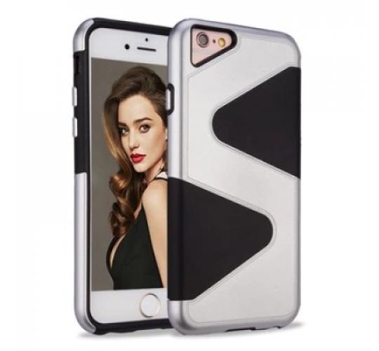 100 X Joblot Heavy Hockproof Hybrid Armor Cases For iPhone 7 Luxury Phone Back Cover Cases Assorted Colours