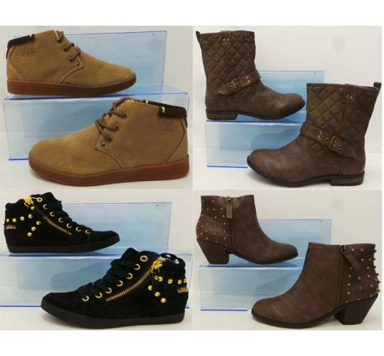 One Off Joblot of 19 Girls/Ladies Xti Shoes & Boots 4 Styles