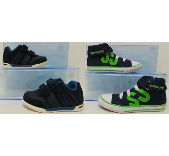 One Off Joblot of 30 Super Jump Boys Shoes 2 Styles Sizes 8-14