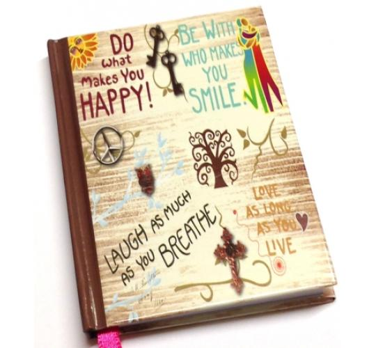 Arpan Small Pocket Things To Do Today Notebook - Life inspirational slogans On Cover