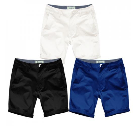 Mens Summer Chino Shorts by Stallion Cotton Half Pant