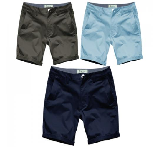 New Mens Chino Shorts Summer Cotton Twill Half Pant by Stallion