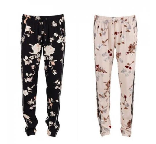 Floral Print Trousers by Saint Tropez