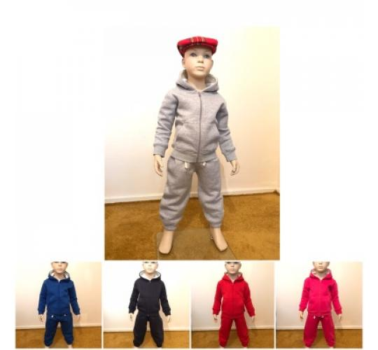 Tracksuit hoodies 5 Colour children age 0-5 years.
