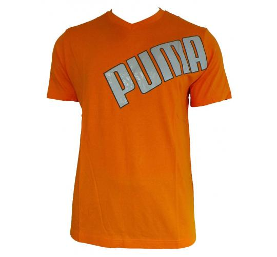 Wholesale Joblot of 10 Mens Orange Puma T-Shirts Size Large