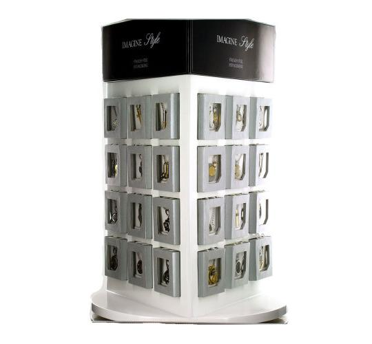 Jewellery stand and 72 Pendants and gift boxes