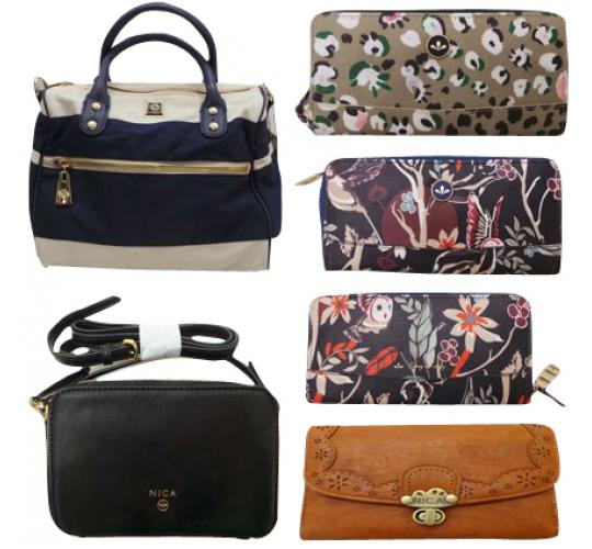 One Off Joblot of 9 Ladies Nica & Mischa Barton Purses, Bags & Clutches