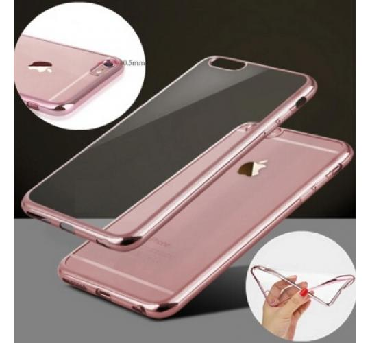 30 x Bulk Joblot Wholesale Electroplated TPU Cover Case for iPhone 7 Rose Gold