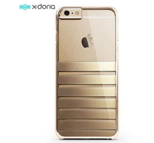 24 x Joblot x-Doria Engage Plus iPhone 6Plus 6s Plus Gold Stripy Back Cover Case