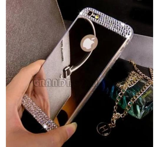 50 x iPhone 7 Bling Shining Diamond Electroplating Mirror TPU Soft Case Cover