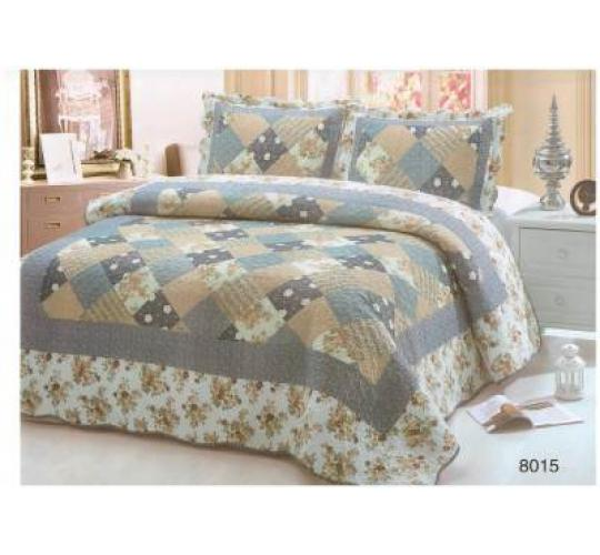 Patchwork Bedspread Mixed Lot, Double Bed