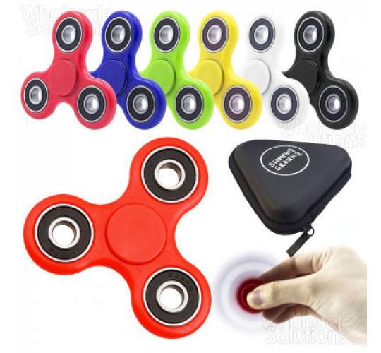 Fidget Spinners with Zip Case
