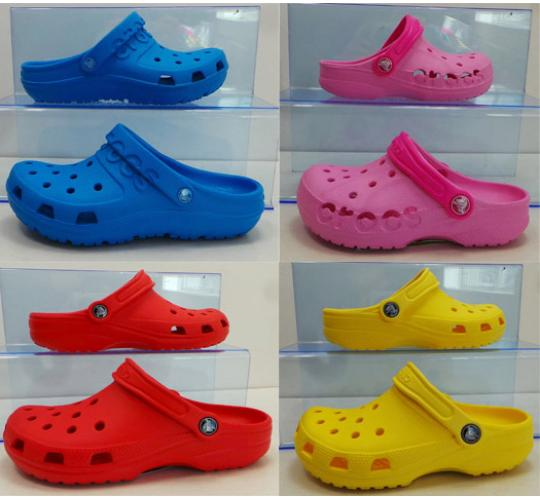 Wholesale Joblot of 25 Assorted Crocs Classic Clogs Kids