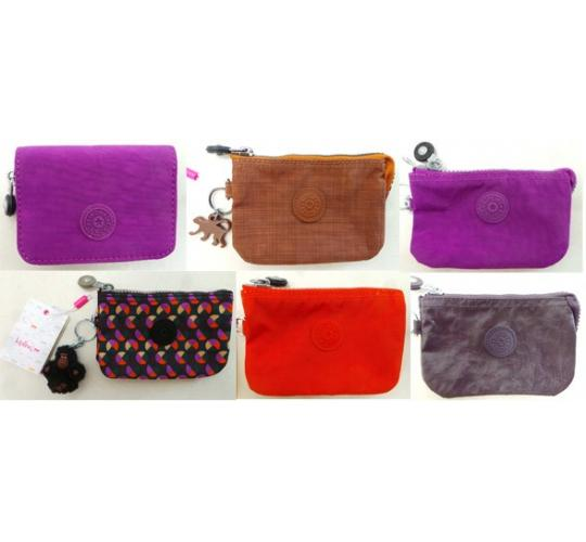 One Off Joblot of 16 Womens Kipling Small Purses Various Designs