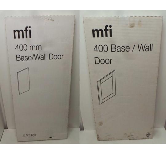 One Off Joblot of 77 MFI 400mm Kitchens Slab Base/Wall Door