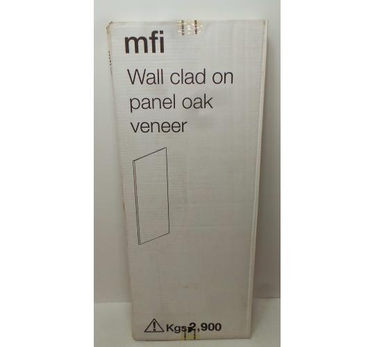 One Off Joblot of 29 MFI Wall Clad On Panel Oak Veneer