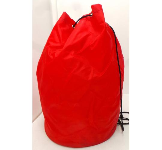 Wholesale Joblot of 200 Red Round Based Drawstring Bag