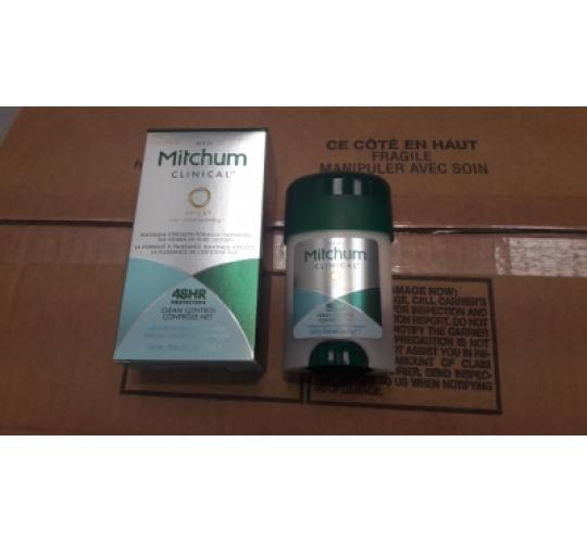 MITCHUM CLINICAL PROTECTION 48H Antiperspirant Cream MEN