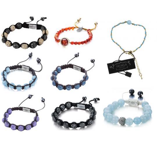 Wholesale Joblot Of 50 Assorted Shimla Bracelets