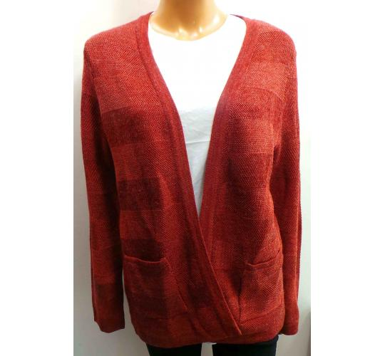 One Off Joblot of 10 Ladies De-Branded Maroon Full Sleeve Cardigans
