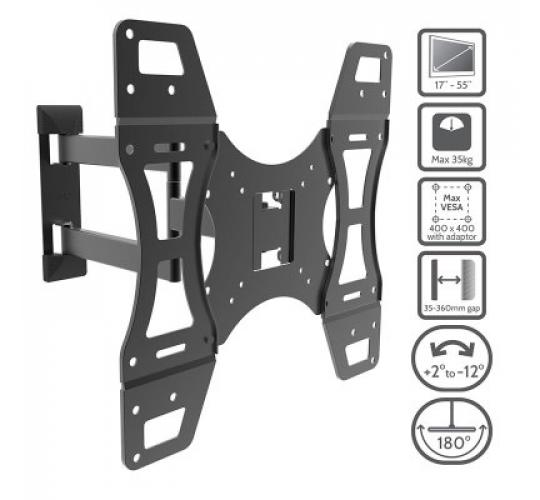 Joblot x 36 Slim Cantilever Tv Brackets 17'' to 55''
