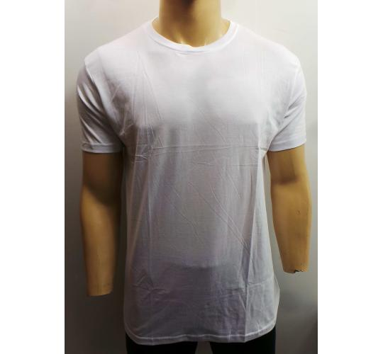 Wholesale Joblot of 20 Mens Westworld White Solid Crew Neck T-Shirts Sizes S-XL