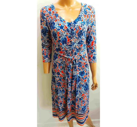 One Off Joblot of 13 Ladies Colourful Floral Long Dresses Sizes 8-14