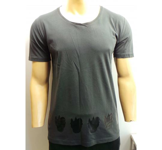 Wholesale Joblot of 20 Disturbing London Mens Grey 'Blackout' T-Shirts
