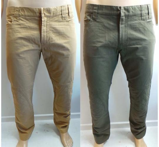 Wholesale Joblot of 20 Disturbing London Mens 'Motor Pant' Chinos 2 Colours