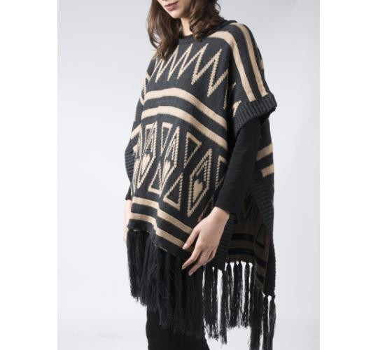 wholesale clearance job lot branded knitted  poncho