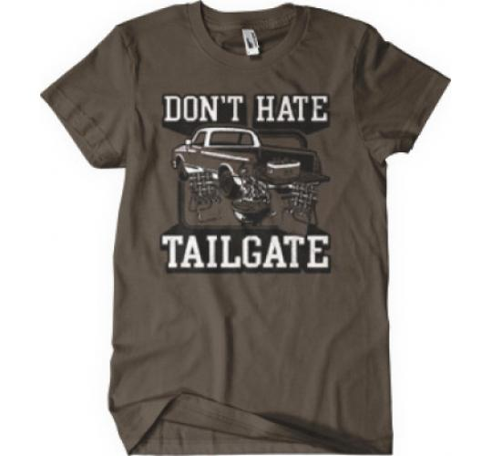 One off 7x Don't Hate Tailgate Novelty T-shirt
