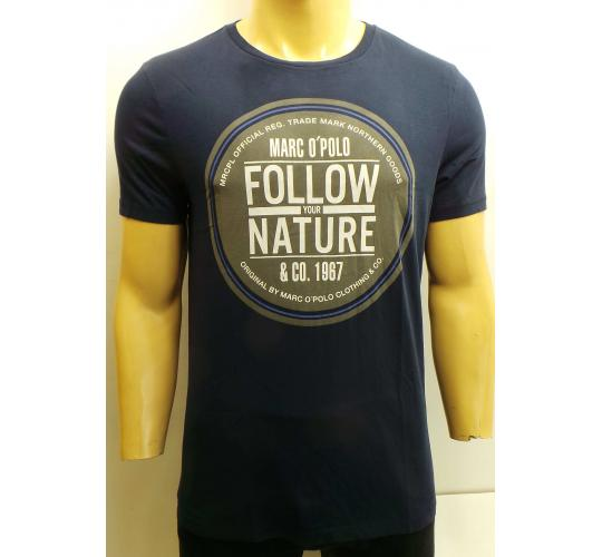 One Off Joblot of 5 Mens Marc O'Polo T Shirts 'Follow Your Nature' Slogan