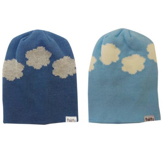 Wholesale Joblot of 10 Toots Clouds Beanie Hats 2 Colours