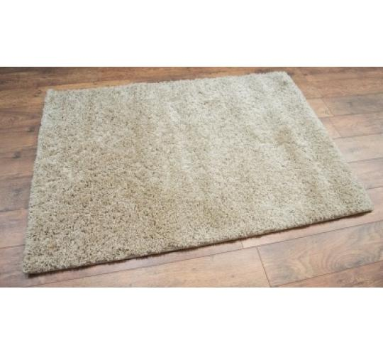 10x Off-White Shaggy Rugs 120 x 170cm (4ft x 5ft 7in)