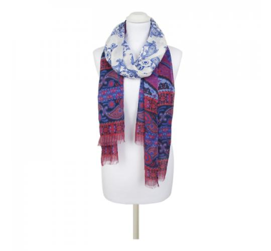 Mixed Lot Clearance Printed Scarves Wholesale