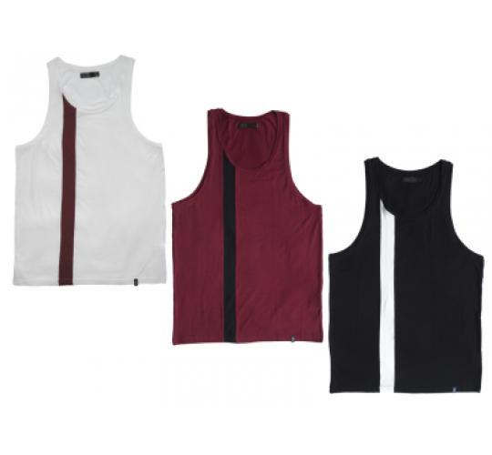 9 Premium Mens Vest Tanktop Multicolor by Oliver Dans