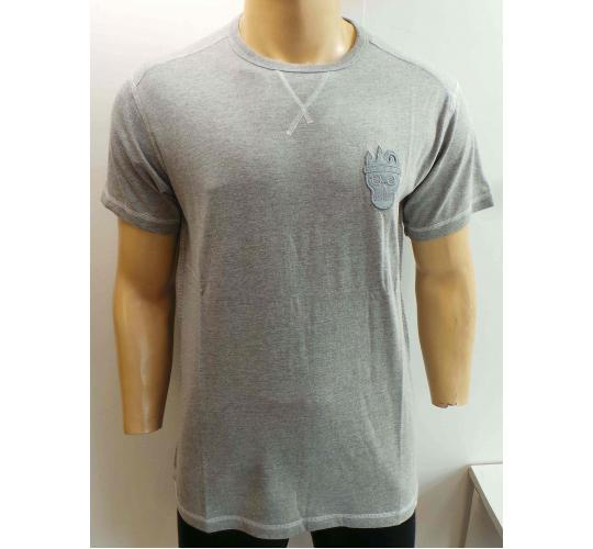 Wholesale Joblot of 10 Disturbing London Mens Grey Marl Silhouette T-Shirts