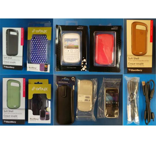 Pallet of 3578 Assorted Mobile Phone Cases, Data Cables & Sync Pods