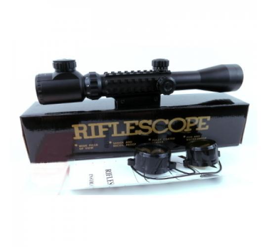 10 x 3-9x40 Rifle Scope - Illuminated