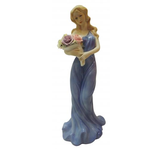 Wholesale Joblot of 16 Madame Posh 'Lady Janette' Figurines 28x11cm 11185