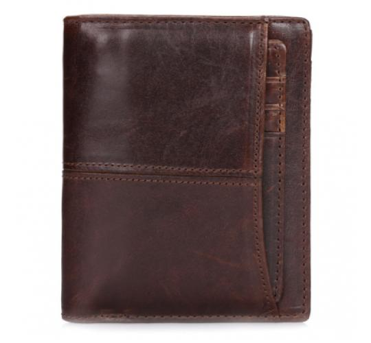 6 x Genuine Leather Wallets with Card Holder