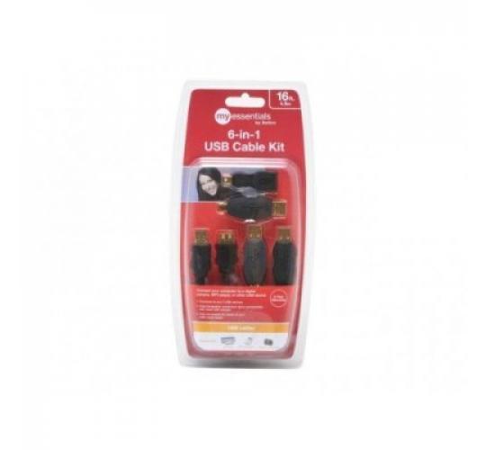 Joblot of 100 x Belkin (MicraDigital) 6 in 1 USB Kit