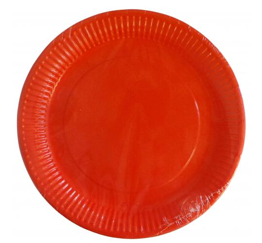 Wholesale Joblot of 240 Coral Paper Plates - 8 Per Pack