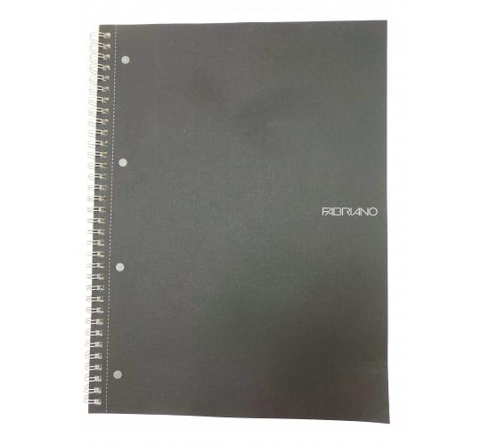 Wholesale Joblot of 30 Fabriano Black A4 Side Spiral Notebooks 85gsm 70 Pages