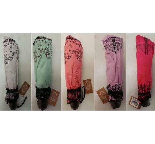 Wholesale Joblot of 20 Madame Posh Mixed Umbrellas Various Colours 3 Designs