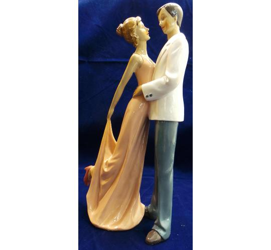 Wholesale Joblot of 6 Madame Posh 'Promenade' Couple Figurines 41612